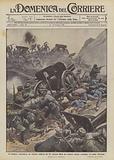 Un brillante contrattacco dei valorosi calabresi del 141° fanteria libera due batterie rimaste …
