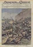 Sul monte Lemerle, La brigata Forli contrattacca e insegue il nemico con la baionetta alle reni