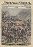Ardite pattuglie di cavalleria premono gli austriaci che si ritirano dall'Altipiano dei Sette Comuni
