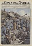 I barbari preparativi austriaci per l'offensiva del Basso Isonzo, bombole di gas asfissianti …