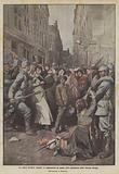 La nuova barbarie tedesca, le deportazioni in massa delle popolazioni della Francia invasa