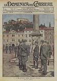 Il Re d'Italia visita Gorizia italiana