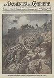 Dopo l'ultima offensiva sul Carso, il ricupero dei cannoni abbandonati dagli austriaci nelle doline