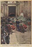 Un originale corteo nuziale a Milano