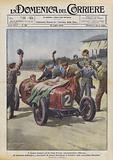 Il trionfo italiano nel 3° Gran Premio Automobilistico d'Europa