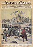 Tempeste, accompagnate da freddo polare, flagellano la regione transilvana in Romania