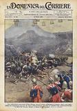 Una ricostruzione guerresca al Real Torneo, che si e svolto all'Olympia di Londra