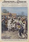 L'appello di Gandhi per la disobbedienza civile degli indiani alle leggi inglesi e stato accolto …