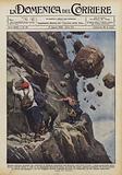 Quattro alpinisti alsaziani che tentavano la rischiosa ascensione dell'Hebertet …