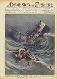 La catastrofe del Saint-Philibert, avvenuta in Francia presso la foce del fiume Loira …