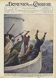 Un muezzin, mentre all'alba stava pronunciando dall'alto di un minareto presso Zagazig …