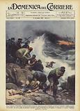 Un drammatico salvataggio all'isola norvegese degli Orsi