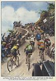I clamorosi entusiasmi dei tifosi di Guerra e di Binda hanno caratterizzato la prima fase del Giro d'Italia