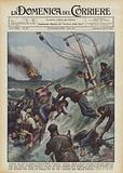 Avvistata una nave in fiamme al largo di Nizza, il piroscafo Livorno diretto a Genova accorreva …