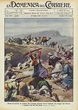 Scene di guerra in Arabia