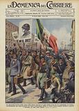 Le operazioni di leva della classe 1914 hanno suscitato in tutta Italia scene di vivo entusiasmo