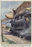Un incidente senza precedenti e avvenuto alla stazione di Zollino (Ferrovie del Sud-Est) nelle Puglie