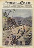 Continuatori dell'opera di civilizzazione dell'antica Roma, migliaia di operai italiani …