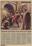 S'inginocchio al duca Galeazzo e da una manica trasse il pugnale
