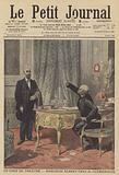 Marcelin Albert meeting French Prime Minister Georges Clemenceau