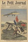The first successful flight across the English Channel by aeroplane