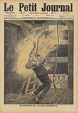 A bell-ringer struck by lightning