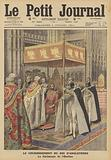 Coronation of King George V in Westminster Abbey