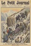 Mountaineering accident on Mont Blanc