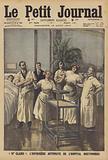 """Mademoiselle Claire"", the robot nurse of the Bretonneau Hospital in Paris"