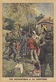 Gypsies at the Franco-German border