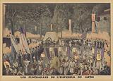 Funeral of the Meiji Emperor of Japan