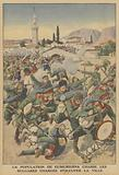 La population de Gumurdjina chasse les Bulgares charges d'occuper la ville