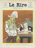 German conciliation. Illustration for Le Rire