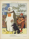 Satire depicting the deposed Moroccan Sultan Abdelaziz and the Ottoman Sultan Abdul Hamid II.