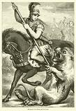 Alexander the Great and the Lion