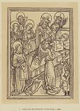 From the Ars Moriendi, Block-Book, c 1450