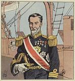 L'amiral Togo, commandant en chef l'escadre japonaise devant Port-Arthur
