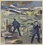 Attaque des torpilleurs japonais contre l'escadre de l'amiral Skrydloff