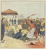 Execution de bandits chinois et khoungouses