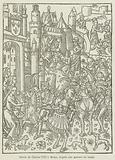 Entree de Charles VIII a Reims