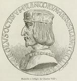 Medaille a l'effigie de Charles VIII