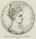 Medaille de Marguerite d'Anjou, reine d'Angleterre