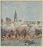 Les zouaves a l'attaque de Beaune-la-Rolande