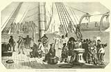 Dernier voyage de Dumont-d'Urville, Passage du cercle polaire, le 19 janvier 1840