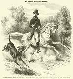 Le comte d'Orsay, decede le 4 aout 1852