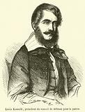 Louis Kossuth, president du conseil de defense pour la patrie