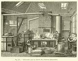 Laboratoire pour la cuisson des conserves alimentaires