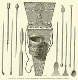 Styles et encrier romains