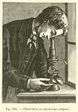 Observation au microscope compose