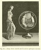 Image droite virtuelle dans les miroirs spheriques convexes